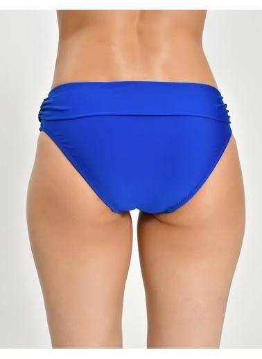Marks & Spencer Beli Katlamalı Bikini Altı Lacivert